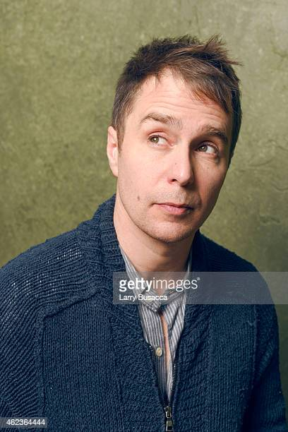 Actor Sam Rockwell of 'Don Verdean' pose for a portrait at the Village at the Lift Presented by McDonald's McCafe during the 2015 Sundance Film...