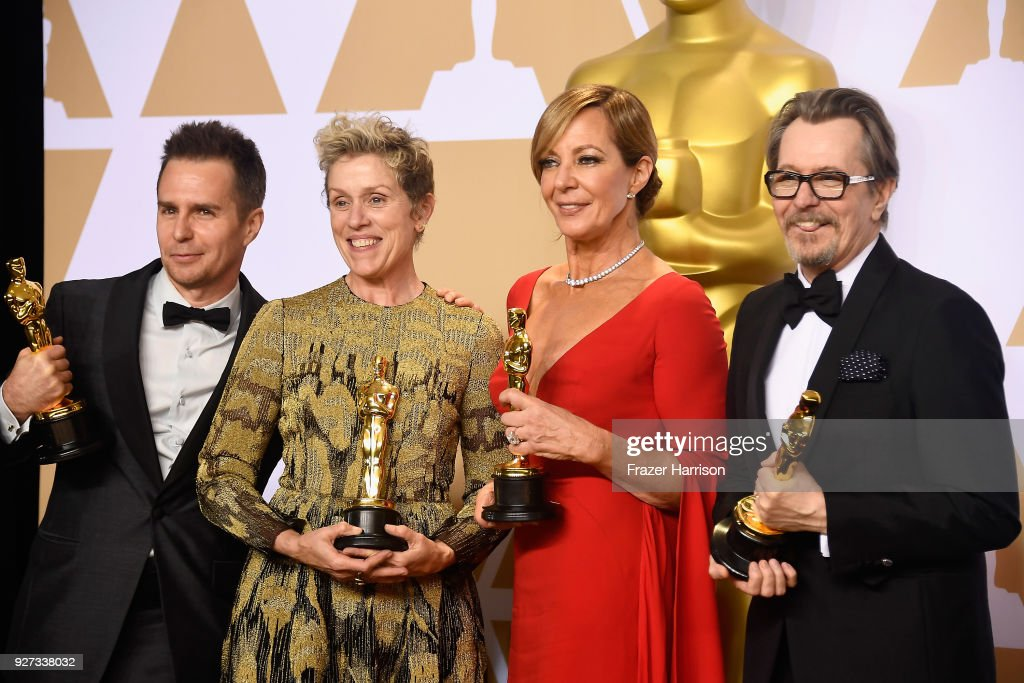 90th Annual Academy Awards - Press Room : ニュース写真