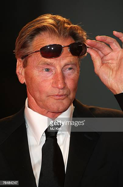 Actor Sam Shepard attends The Assassination Of Jesse James By The Coward Robert Ford premiere in Venice during day 5 of the 64th Venice Film Festival...