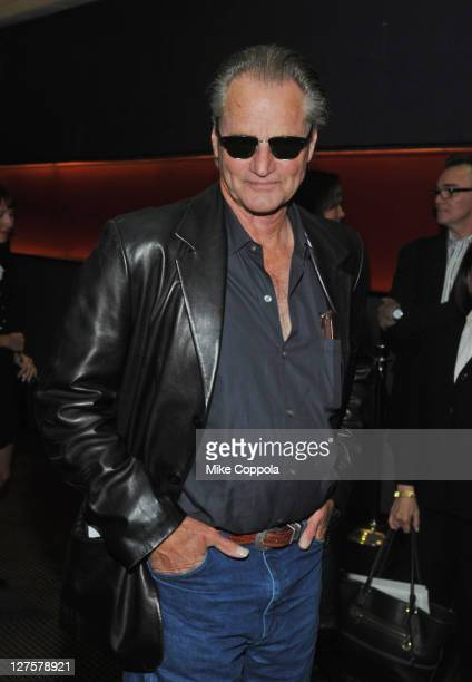 Actor Sam Shepard attends the premiere of 'Blackthorn' at Cinema 2 on September 29 2011 in New York City