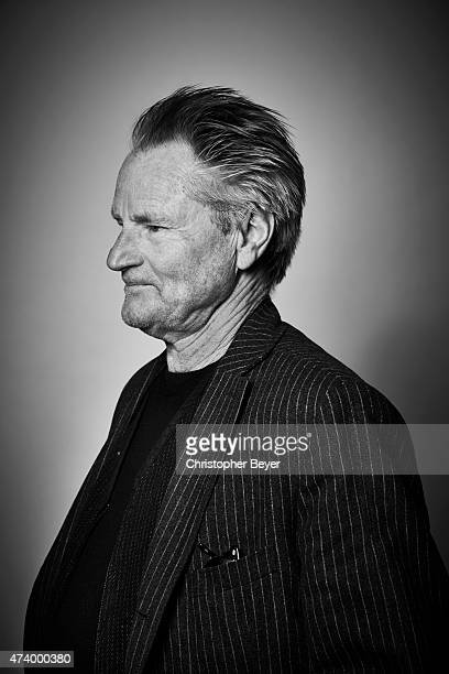 Actor Sam Shepard is photographed for Entertainment Weekly Magazine on January 25 2014 in Park City Utah