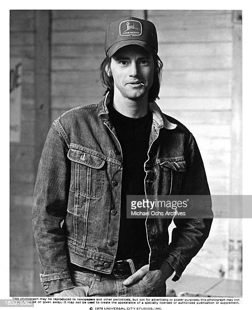 Actor Sam Shepard on set of the Universal Studio movie 'Resurrection' in 1980