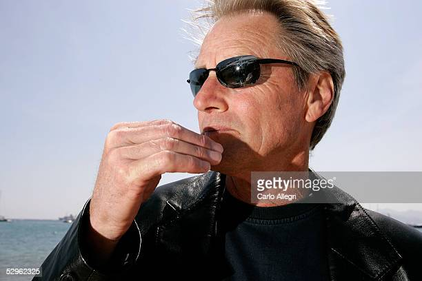 Actor Sam Shepard poses for a portrait while promoting the film 'Don't Come Knocking' at the 58th International Cannes Film Festival May 20 2005 in...