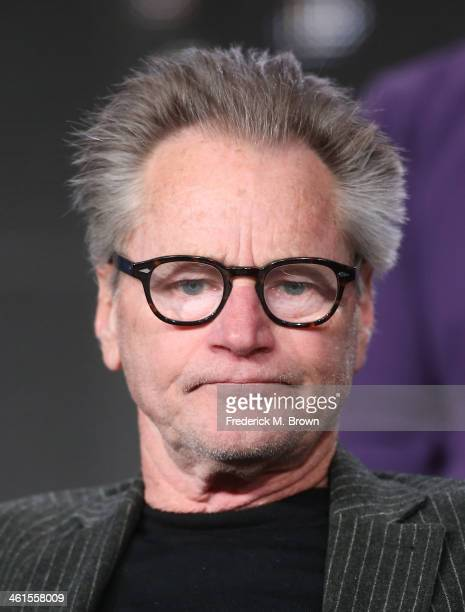 Actor Sam Shepard speaks onstage during the 'Discovery Channel Klondike' panel discussion at the Discovery Communications portion of the 2014 Winter...