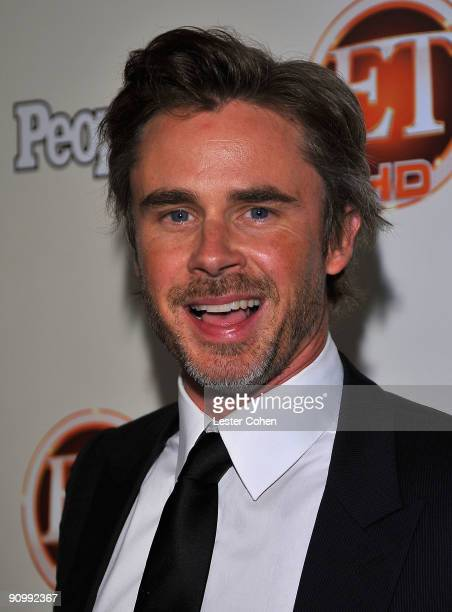Actor Sam Trammell arrives at the 13th Annual Entertainment Tonight and People Magazine Emmys After Party at the Vibiana on September 20, 2009 in Los...