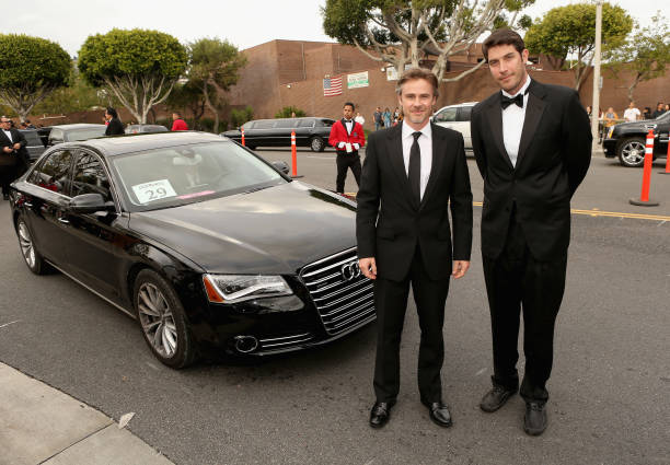CA: Audi Arrivals At 22nd Annual Elton John AIDS Foundation Academy Awards Viewing Party