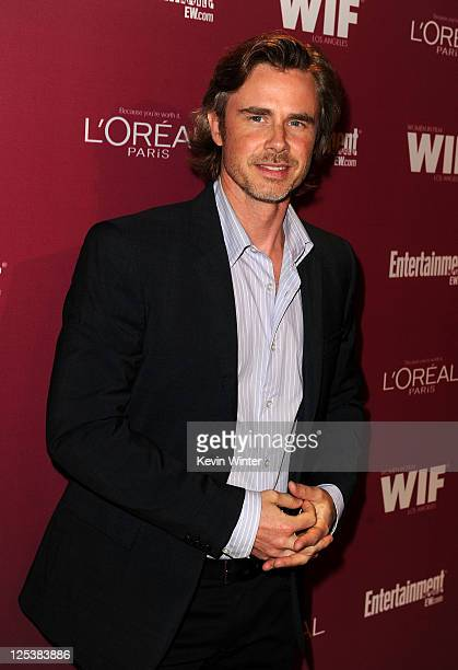 Actor Sam Trammell attends The 2011 Entertainment Weekly And Women In Film Pre-Emmy Party Sponsored By L'Oreal at BOA Steakhouse on September 16,...