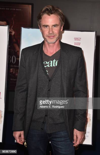 Actor Sam Trammell attends the premiere of Sony Pictures Classics' The Seagull at The Writers Guild Theater on May 1 2018 in Beverly Hills California