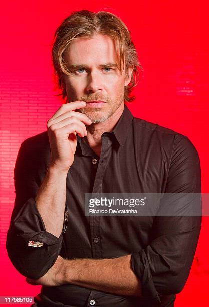Actor Sam Trammell is photographed for Los Angeles Times on June 16 2011 in Sherman Oaks CaliforniaCREDIT MUST READ Ricardo DeAratanha/Los Angeles...