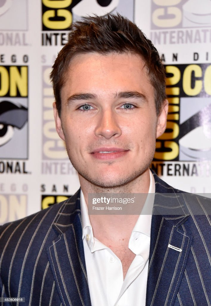Actor Sam Underwood attends FOX's 'The Following' press line during Comic-Con International 2014 at Hilton Bayfront on July 27, 2014 in San Diego, California.