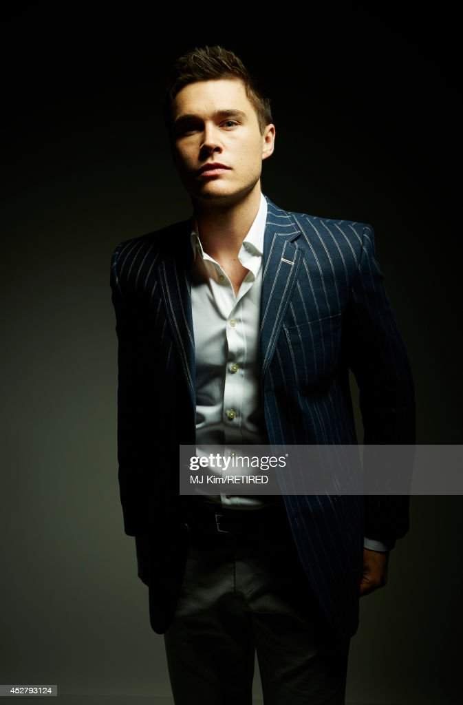 Actor Sam Underwood poses for a portrait at the Getty Images Portrait Studio Powered By Samsung Galaxy at Comic-Con International 2014 at Hard Rock Hotel San Diego on July 27, 2014 in San Diego, California.