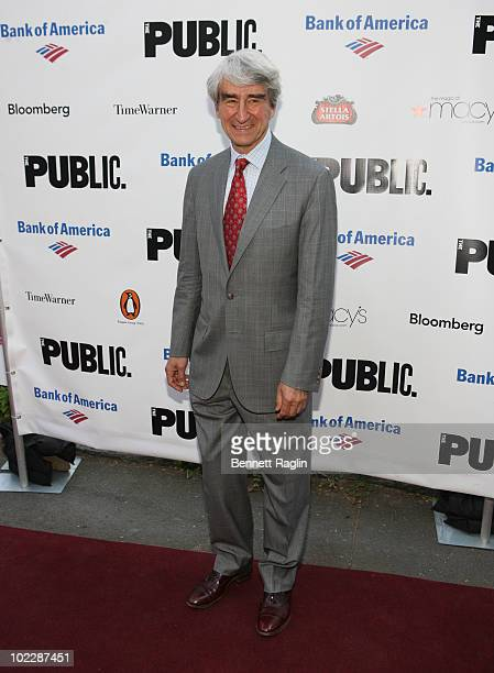 Actor Sam Waterson attends the 2010 Public Theater Gala at the Delacorte Theater on June 21 2010 in New York City