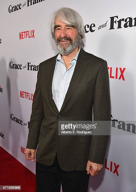 Actor Sam Waterston attends the premiere of Netflix's 'Grace and Frankie' at Regal Cinemas LA Live on April 29 2015 in Los Angeles California