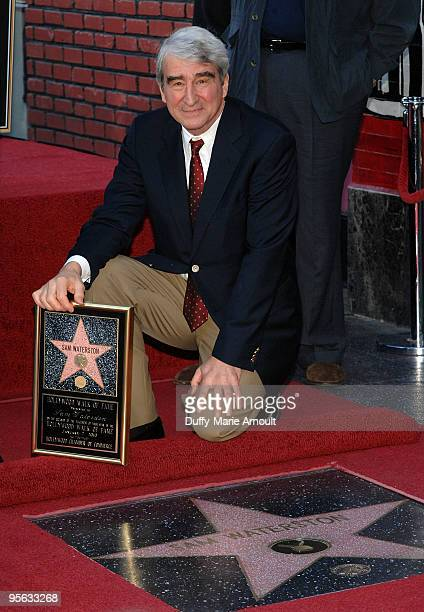 Actor Sam Waterston is honored with a star on the Hollywood Walk of Fame on January 7 2010 in Hollywood California