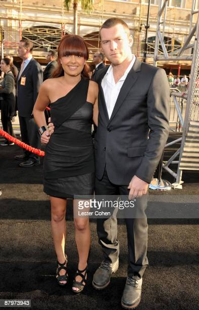 """Actor Sam Worthington and Natalie Mark arrive at the Premiere of Warner Bros. """"Terminator Salvation"""" held at Grauman's Chinese Theatre on May 14,..."""
