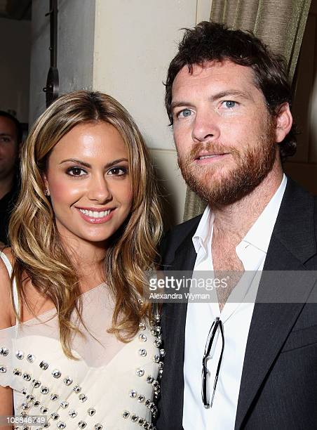 Actor Sam Worthington and Natalie Mark attend the 11th Annual InStyle and the Hollywood Foreign Press Association's Toronto International Film...