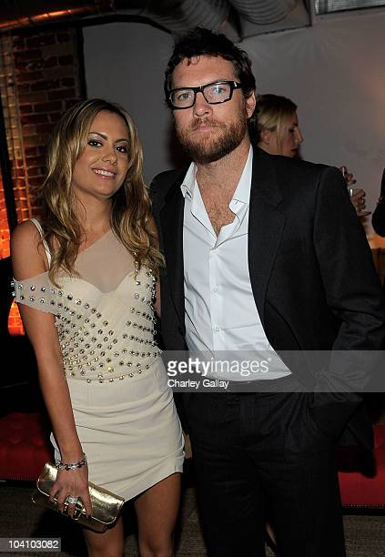 Actor Sam Worthington and Natalie Mark attend The Debt cocktail party at Grey Goose Soho House Club during the 2010 Toronto International Film...