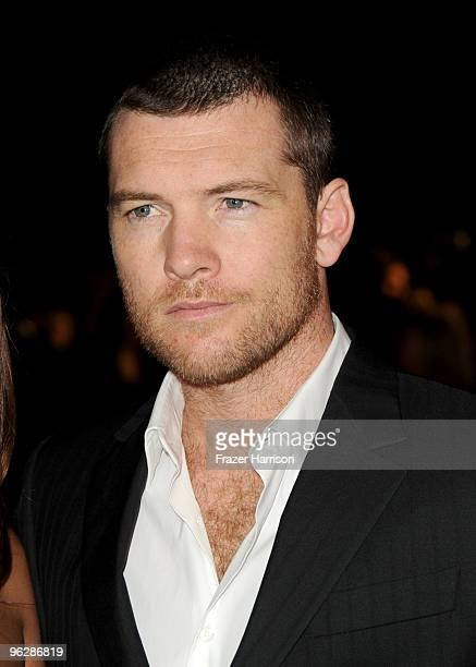 Actor Sam Worthington arrives at the 62nd Annual Directors Guild Of America Awards at the Hyatt Regency Century Plaza on January 30 2010 in Century...