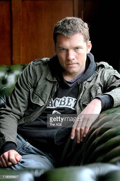 Actor Sam Worthington at the Supper Club in Sping Street Melbourne