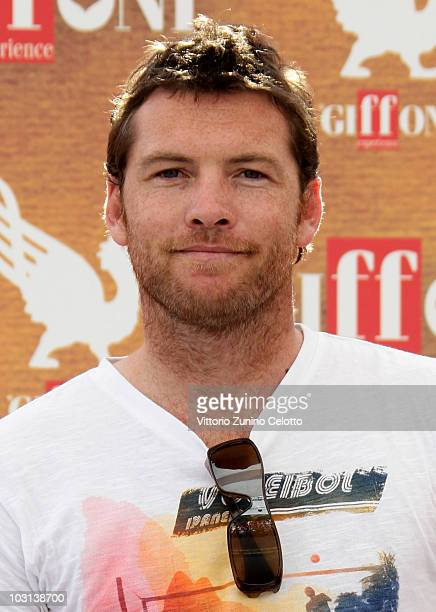 Actor Sam Worthington attends a photocall during Giffoni Experience 2010 on July 28 2010 in Giffoni Valle Piana Italy