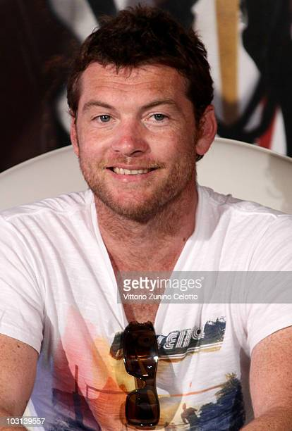 Actor Sam Worthington attends a press conference during Giffoni Experience 2010 on July 28 2010 in Giffoni Valle Piana Italy