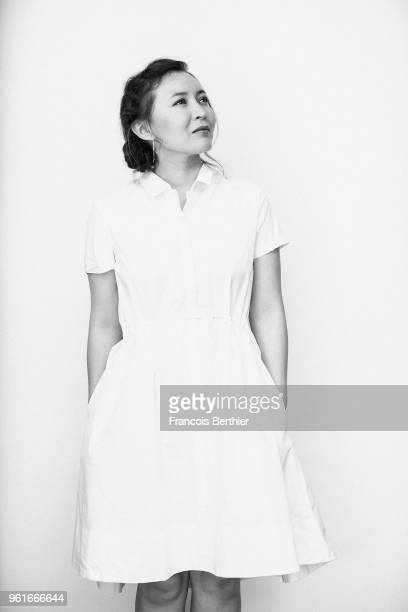Actor Samal Yeslyamova is photographed on May 19 2018 in Cannes France