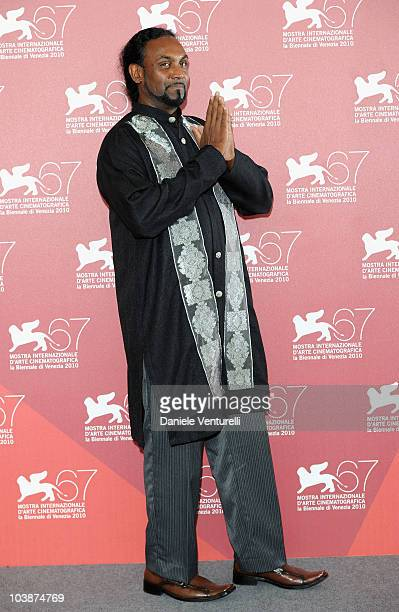 Actor Saman Anthony attends the Into Paradiso Achille photocall at the Palazzo del Casino during the 67th Venice International Film Festival on...