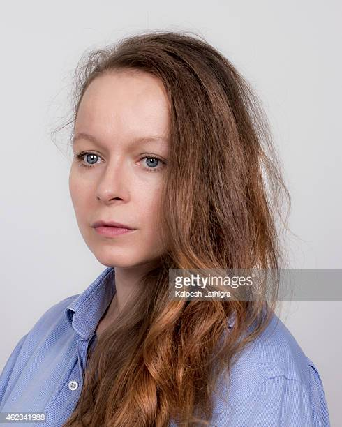 Actor Samantha Morton is photographed for the Guardian on September 3 2014 in London England