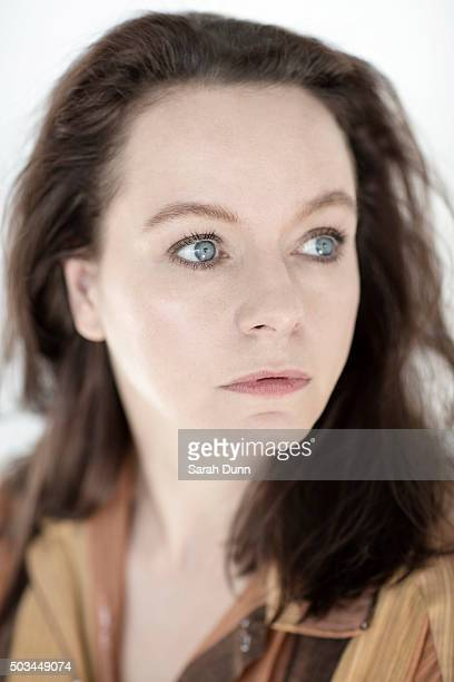 Actor Samantha Morton is photographed for the Times on October 12 2015 in London England