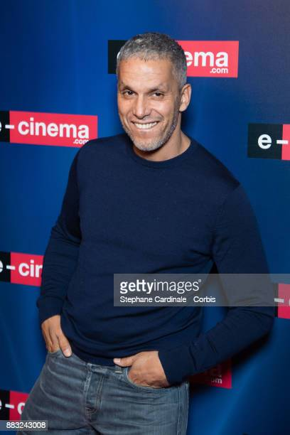 Actor Sami Bouajila attends 'ecinemacom' Launch Party at Restaurant L'Ile on November 30 2017 in IssylesMoulineaux France