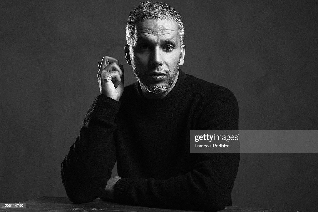Actor Sami Bouajila is photographed for Self Assignment on December 1, 2015 in Paris, France.