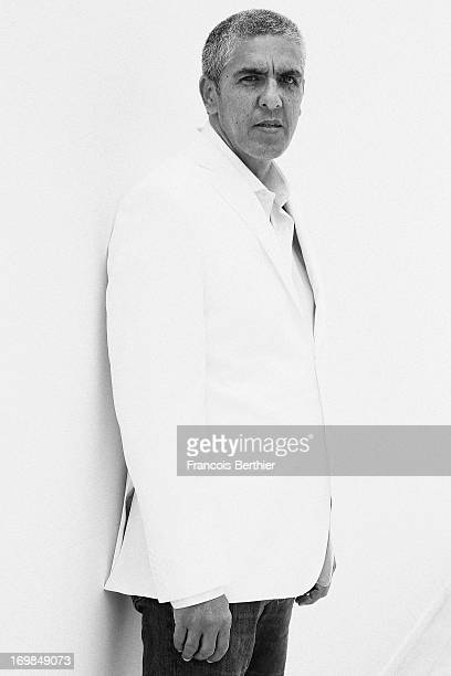 Actor Sami Naceri is photographed for Self Assignment on May 20 2013 in Cannes France