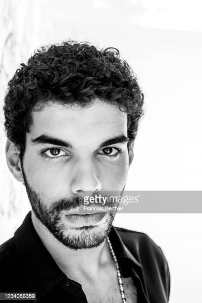 Actor Sami Outalbali poses for a portrait during the 74th Cannes International Film Festival, on July 14, 2021 in Cannes, France.