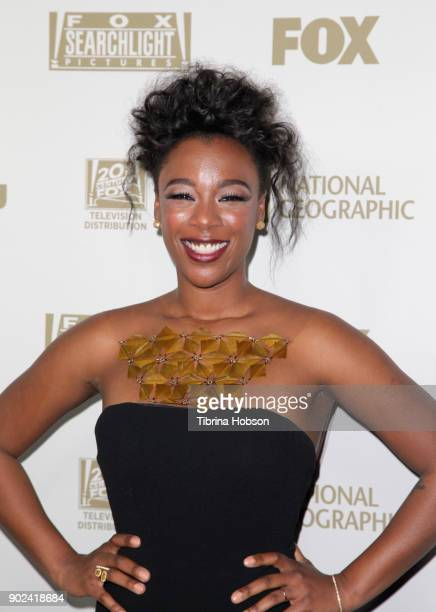 Actor Samira Wiley attends FOX FX and Hulu 2018 Golden Globe Awards After Party at The Beverly Hilton Hotel on January 7 2018 in Beverly Hills...