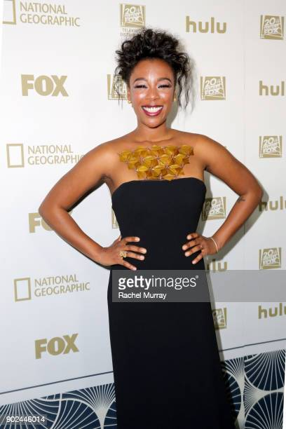 Actor Samira Wiley attends Hulu's 2018 Golden Globes After Party at The Beverly Hilton Hotel on January 7 2018 in Beverly Hills California