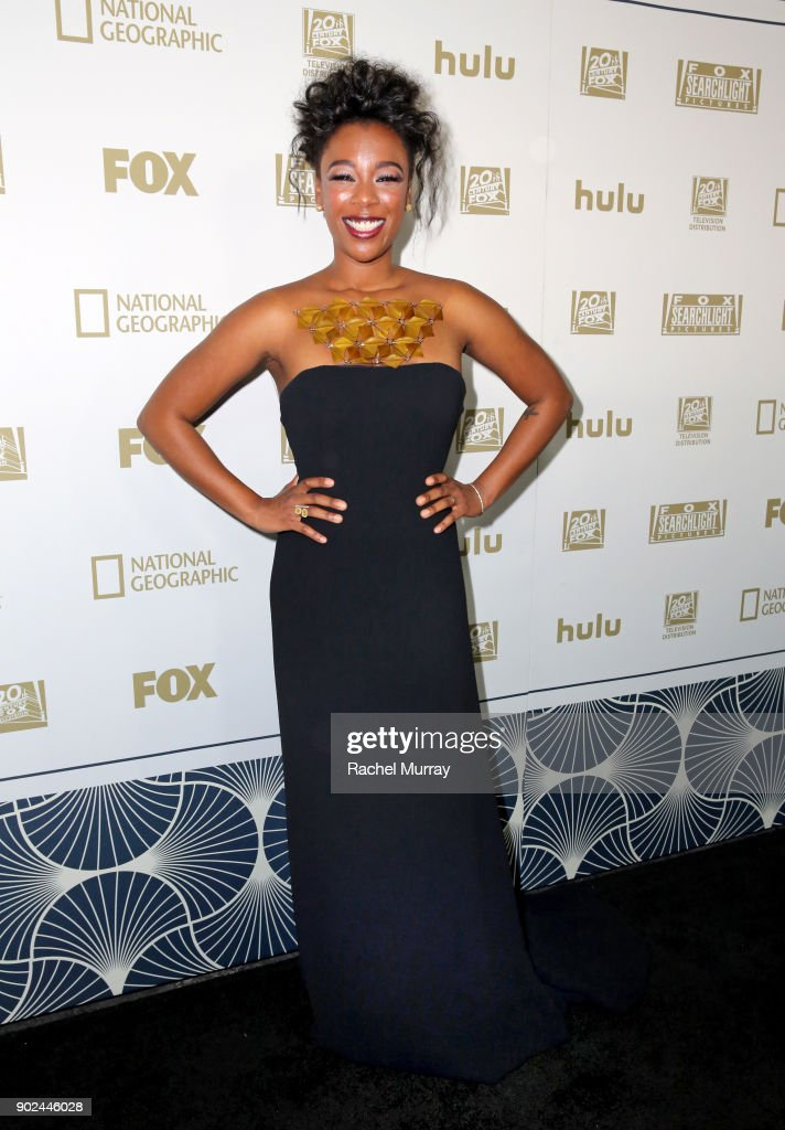 Actor Samira Wiley attends Hulu's 2018 Golden Globes After Party at The Beverly Hilton Hotel on January 7, 2018 in Beverly Hills, California.