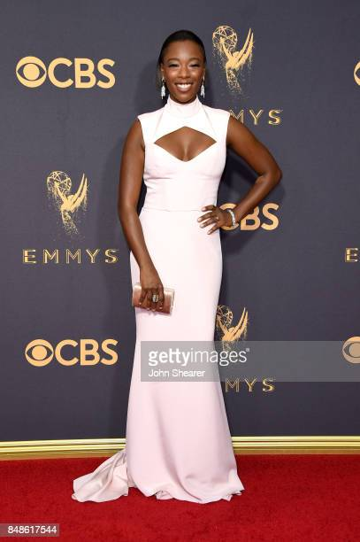 Actor Samira Wiley attends the 69th Annual Primetime Emmy Awards at Microsoft Theater on September 17 2017 in Los Angeles California