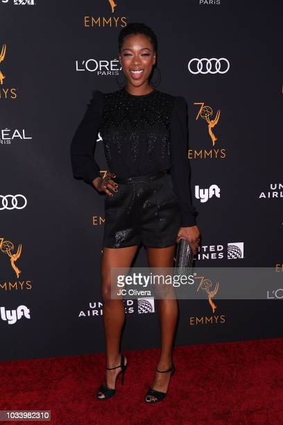 Actor Samira Wiley attends the Television Academy Honors Emmy Nominated Performers at Wallis Annenberg Center for the Performing Arts on September 15...