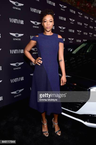 Actor Samira Wiley attends Vanity Fair and Genesis Celebrate Hidden Figures on February 24 2017 in Los Angeles California