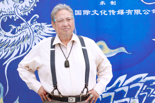 CHN: Sammo Hung Promotes New Film In Hong Kong