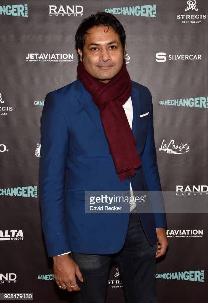 Actor Samrat Chakrabarti attends Gamechanger Films reception at the RAND Luxury Escape during the 2018 Sundance Film Festival at The St Regis Deer...