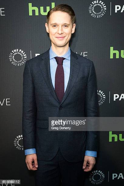 "Actor Samuel Barnett arrives for the PaleyLive LA - ""Dirk Gently's Holistic Detective Agency"" Premiere Screening And Conversation at The Paley Center..."