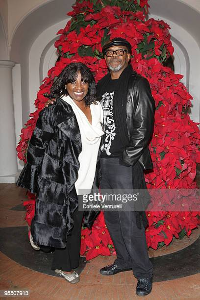 Actor Samuel Jackson and his wife La Tanya Richardson Jackson attend the fourth day of the 14th Annual Capri Hollywood International Film Festival on...