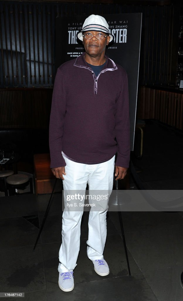 Actor Samuel Jackson attends 'The Grandmaster' New York Screening after party at Forty Four at the Royalton on August 13, 2013 in New York City.