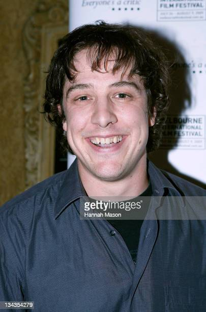 Actor Samuel Johnson arrives for the premiere of $999 at The Forum Theatre on August 4 2009 in Melbourne Australia