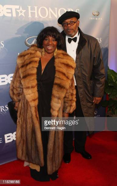Actor Samuel L Jackson and wife Latanya Richardson attend the 2nd Annual BET Honors at the Warner Theatre on January 17 2009 in Washington DC