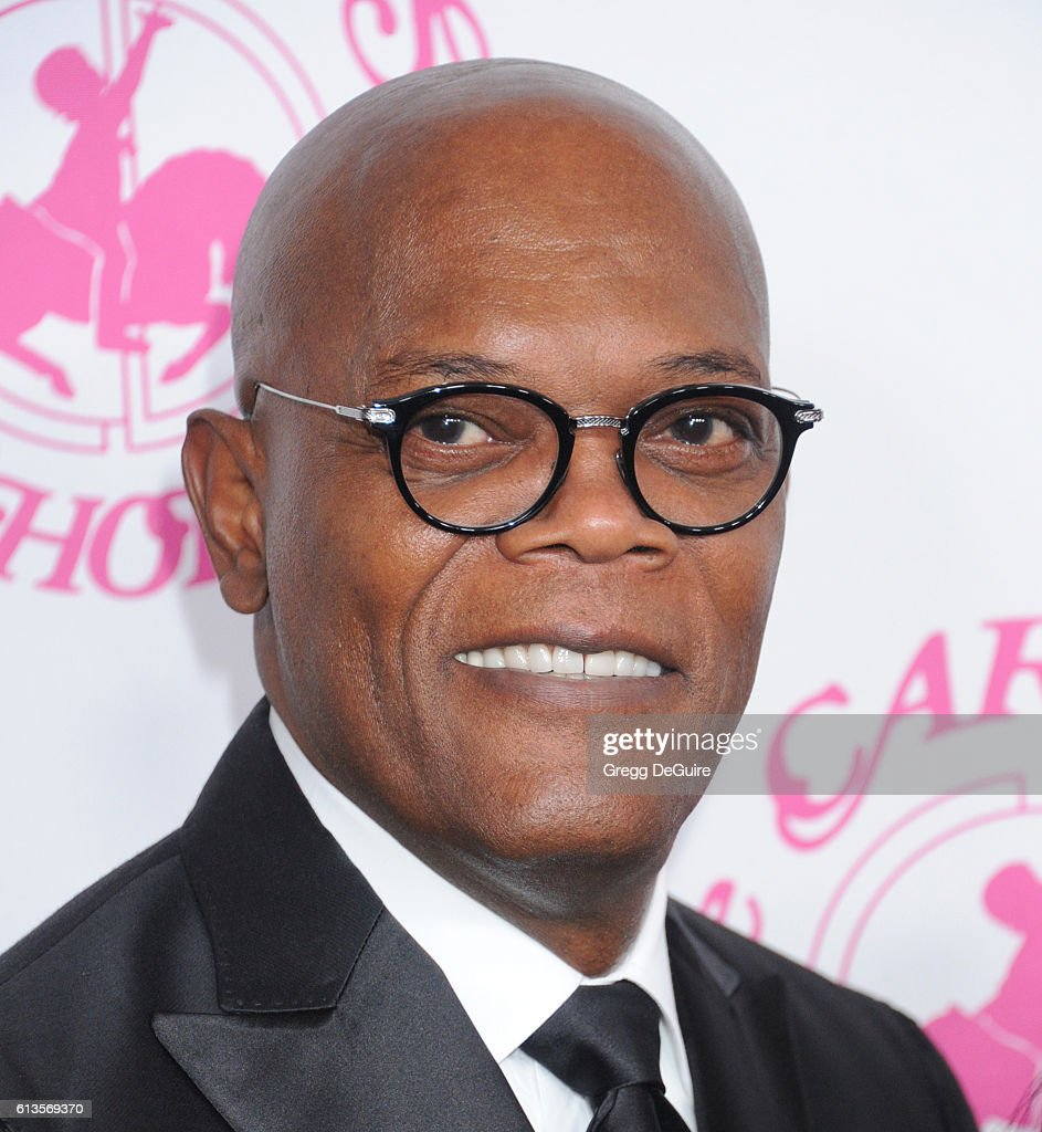 Actor Samuel L. Jackson arrives at the 2016 Carousel Of Hope Ball at The Beverly Hilton Hotel on October 8, 2016 in Beverly Hills, California.