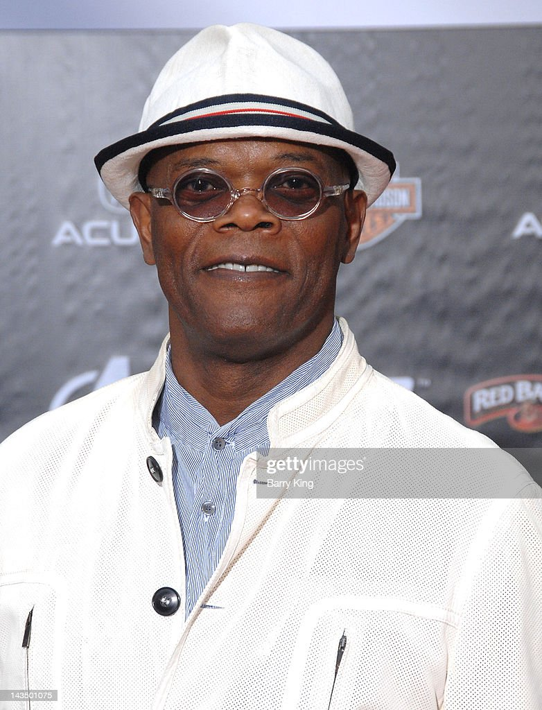 Actor Samuel L. Jackson arrives at the Los Angeles Premiere of 'The Avengers' at the El Capitan Theatre on April 11, 2012 in Hollywood, California.