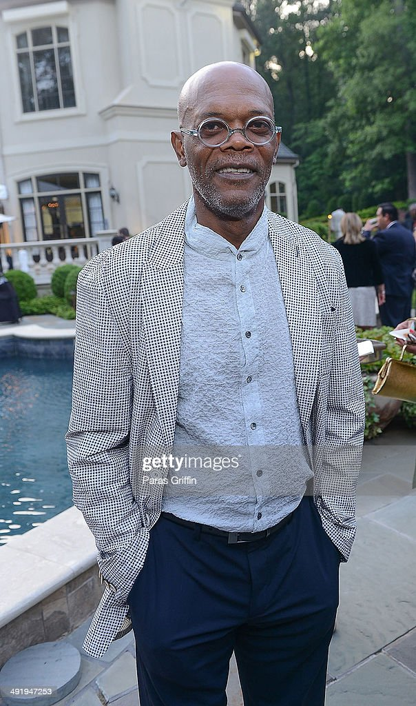 Actor Samuel L. Jackson attends 2014 Blues In The Night on May 17, 2014 in Atlanta, Georgia.