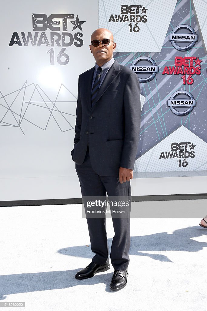 Actor Samuel L. Jackson attends the 2016 BET Awards at the Microsoft Theater on June 26, 2016 in Los Angeles, California.